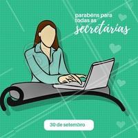 Obrigada por toda a sua ajuda.  #secretaria #ahazou #comemoracao #diadasecretaria
