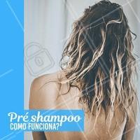 Pré shampoo é um produto que prepara os fios para a lavagem tradicional com shampoo.  Este processo desembaraça os fios e deixa as madeixas mais macias e sedosas no fim da higienização, pois atua na reparação e nutrição dos fios.  #preshampoo #cronogramacapilar #ahazou #cabelo #cuidadoscomocabelo
