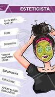 Curte aqui se você também ama a sua esteticista! #esteticista #ahazou #engracao #meme #divertido