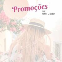 Confere só os precinhos especiais desse mês! #outubro #cabelo #salaodebeleza #ahazou #promoçao #promocional #promoçoesdomes