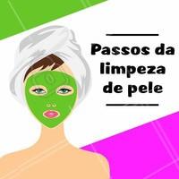 O primeiro passo da limpeza de pele é a assepsia e esfoliação, para limpar a pele e prepará-la para o tratamento. O segundo passo é a extração, etapa onde os poros são dilatados através do vapor de ozônio, deixando a pele mais emoliente para o processo de extração das impurezas como comedões e espinhas. Logo em seguida, o terceiro passo é a aplicação da máscara com objetivo de acalmar a pele e hidratar. O último passo é a aplicação do filtro solar para garantir que a pele está protegida! #limpezadepele #ahazou #esteticafacial #estetica