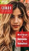Aproveite esse combo promocional e arrase! #cabelo #ahazou #cabeleireiro #mechas #hidratacao #babyliss