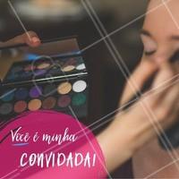 Farei uma reunião para ensinar a como se maquiar. Venha participar e chame suas amigas. #revendedoras #ahazou #maquiagem #aula #reuniao