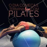Pilates é vida! #pilates #ahazou #fisioterapia #exercicios