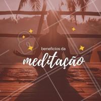 A meditação vem ganhando cada vez mais adeptos. Meditar significa estar consciente da sua presença, conseguindo se desligar da correria diária. Separe um momento do seu dia para a prática. #meditacao #ahazou #dicas #paz #zen #saude