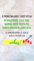 #stories #ahazou #unhas #eleicoes2018