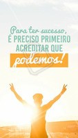 Se você não acreditar no seu potencial, quem vai? #inspiracao #ahazou #motivacional #fe #vida #superacao