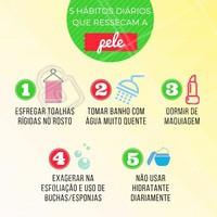 Será que você está cometendo algum desses erros? 🤔 Confira e comente aqui! #esteticafacial #ahazou #peleseca #peleressecada