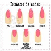 Comente aqui a sua favorita! #manicure #ahazou #unhas #comentarios