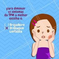 Os sintomas da TPM podem trazer muito incomôdo, como por exemplo: inchaço, sensibilidade, dores de cabeça e outros. Alivie-os com a drenagem linfática e viva esse momento em paz! #tpm #menstruaçao #estetica #ahazou #drenagemlinfatica #drenagem