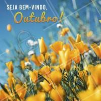 Que seja doce! 🙏 Seja bem-vindo, Outubro seu lindo! #outubro #ahazou #bemvindo