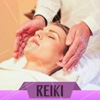 Restabeleça o seu equilíbrio natural com sessões de Reiki. Venha conhecer. #reiki #ahazou #terapiasalternativas