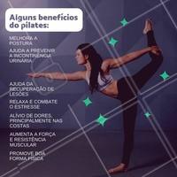 Conhece os benefícios do pilates! Agende a sua avaliação. #pilates #ahazou #exercicio #vida #saude