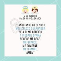 Faça uma oração para o seu anjo da guarda. #anjodaguarda #ahazou #motivacional