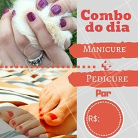 Venha fazer as unhas com desconto! #manicure #ahazou #pedicure #desconto #promocao #nails #unhas
