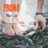 Venha fazer a sua manicure e pedicure. #manicure #ahazou #pedicure #mao #pe #mulher #beleza