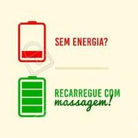 O melhor jeito de recarregar as energias e se sentir renovada! #massagem #ahazou #massoterapia