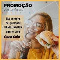 Aproveite a promoção do dia! #alimentacao #ahazou #hamburguer #promocao