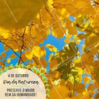 Celebre esse dia tão importante! #diadanatureza #ahazou #natureza #comemoracao