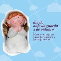 Que o seu dia seja abençoado pelo seu anjo da guarda! 🙏🏼 #anjodaguarda #ahazou #motivacional