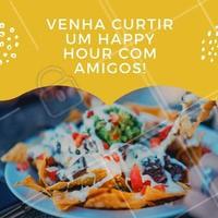 Aproveite para juntar a turma e desfrutar de uma deliciosa comida mexicana. #alimentacao #ahazou #mexicano #happyhour #amigos