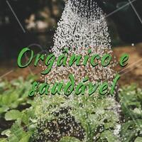 Só trabalhamos com produtos orgânicos e saudáveis. #alimentacao #ahazou #salada #saudavel #organico