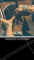 Confere só os precinhos especiais desse mês! #outubro #barberia #ahazou #promoçao #promocional #promoçoesdomes