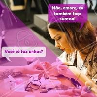 😎 #manicure #ahazou #engracado