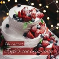 Mande uma mensagem para saber valores e sabores. #alimentacao #ahazou #bolo #casamento