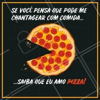 Hahaha quem mais é assim? 😉 #pizza #ahazou #Pizzaria #alimentaçao #comida