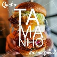 Enorme? Peça o seu lanchão agora mesmo! #hamburguer #ahazou #alimentacao #delivery