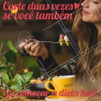 Mantenha a sua dieta saudável todos os dias. #alimentacao #ahazou #salada #dieta