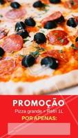 Aproveite essa promoção para se deliciar com nossa pizza! 🍕#pizza #ahazou #Pizzaria #promoçao #alimentaçao #comida