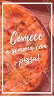Quem disse que Segunda-feira não é dia de pizza? Peça já a sua! #pizza #ahazou #pizzaria #comida #alimentaçao