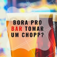 Venha tomar um choppinho. #alimentacao #ahazou #chopp #happyhour