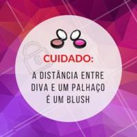Tomem cuidado com o blush! 😂  #maquiagem #humor #ahazou #engracado