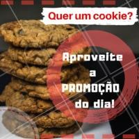 Só hoje! Compre 3 e leve 5. Aproveite. #alimentacao #ahazou #cookie #promocao