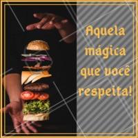 Quem ama x-burguer clique duas vezes! #alimentacao #ahazou #hamburguer #xburquer