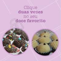 E aí, qual seu favorito? Comenta aqui! #brigadeiro #ahazou #beijinho #doce #doceria #docesgourmet #doces