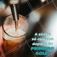 Venha fazer o seu happy hour aqui conosco. #alimentacao #ahazou #cerveja #bar #sexta