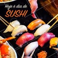 Chame os amigos e venha provar essa delicia! #alimentacao #ahazou #sushi
