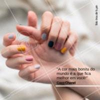 Qual cor você vai querer hoje? #manicure #ahazou #esmalte #cores #troudelapin