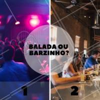 Você curte qual? #enquete #ahazou #balada #barzinho