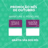Aproveite essa promoção especial. Apenas hoje! Venha ficar mais bonita com pouco. #promocao #ahazou #manicure #desconto