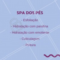 Aproveite para vir fazer o Spa dos Pés com desconto. #manicure #ahazou #promocao #esmalte