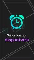 Não perca tempo e agende já seu horário! ⏰ #horario #ahazou #agendeseuhorario #beleza