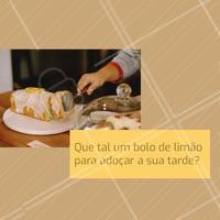 Estamos te esperando! #alimentacao #ahazou #bolo #doce
