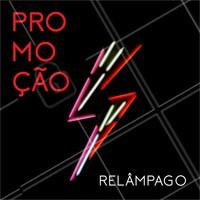 Promoção relâmpago, é agora ou nunca! Os preços caíram, venha conferir! #ahazou #promoção #relampago #preçobaixo