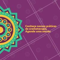 A cromoterapia promove a tranquilidade através das cores com o objetivo de harmonizar o corpo. #terapiasalternativas #ahazou #cromoterapia #saude #terapias