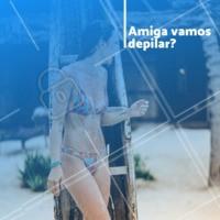 Agende o seu horário! #depilacao #ahazou #mulher #ahazoubeleza #depil